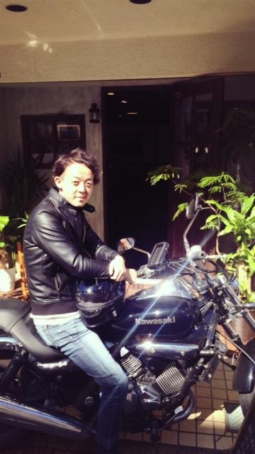 NOWい!バイクで参上!
