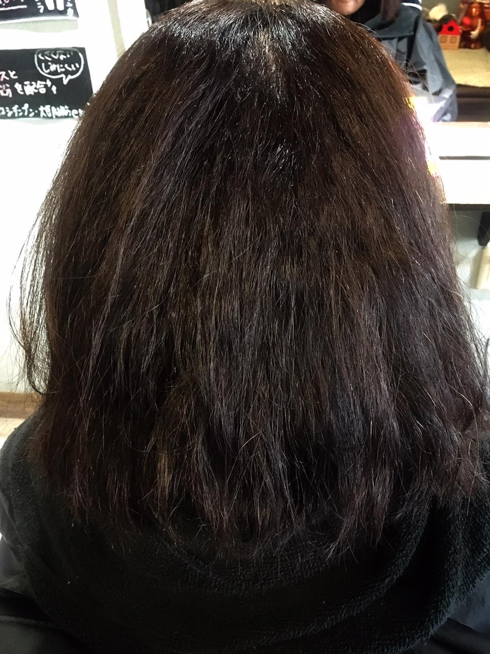 髪の広がりを抑えよう